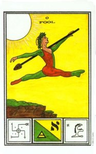 Tarot of Ceremonial Magick  El Loco