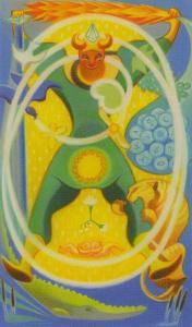 Tarot of Stars Eternal  El Loco