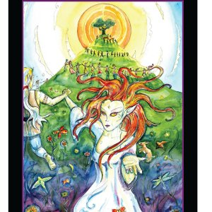 Tarot of the Sidhe  El Loco