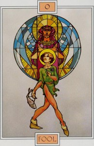 Winged Spirit Tarot  El Loco