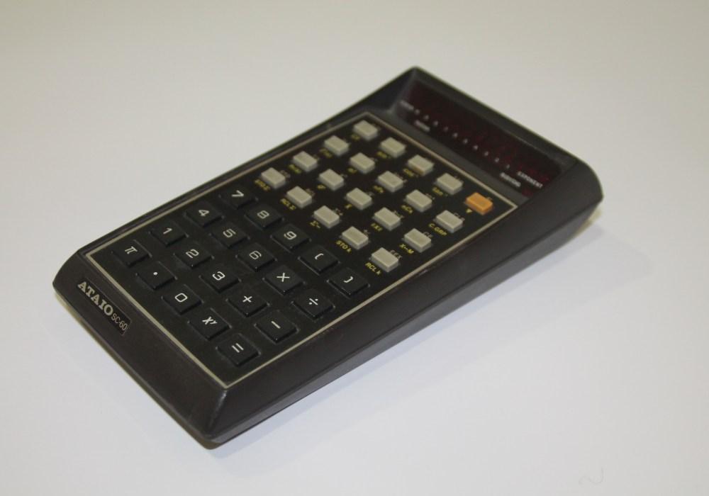 Calculadora Ataio SC-60 lateral