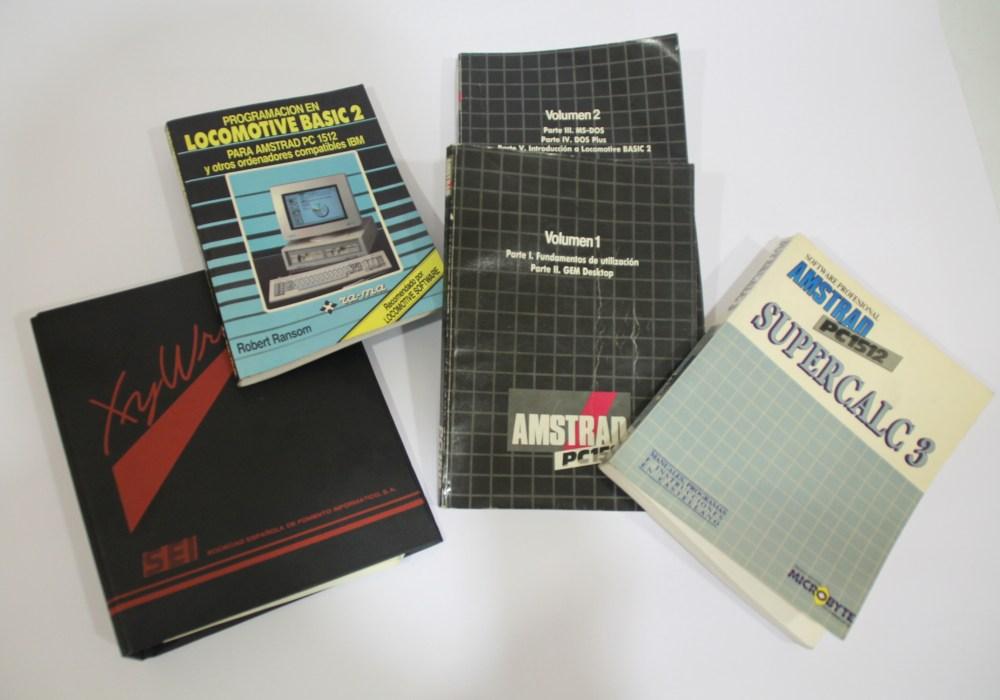 Conjunto de manuales de programación