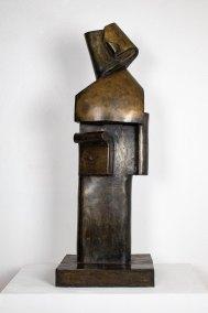 """""""Napoleón"""" 1931 : bronce 94 x 34 x 26.7 cm"""