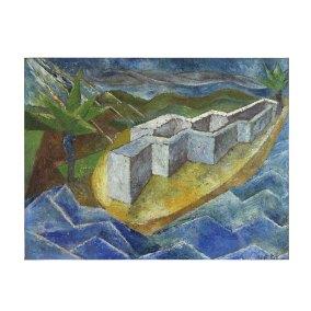 """Sin título"" s.f. : óleo sobre madera 29 x 37 cm"