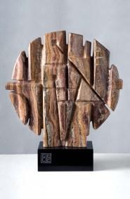 Relieve para una fuente | 2009 Talla sobre mármol veteado 62 x 52 x 15 cm
