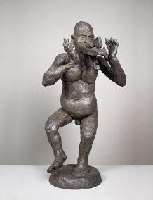 """Ehécatl 1"" : 2008 : bronce : 64 x 32 x 42 cm"