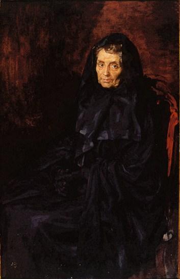 Doña Josefa Alda Moliner, madre del pintor.