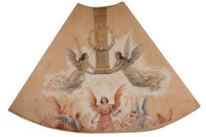 Estudio para el manto de la Virgen del Pilar