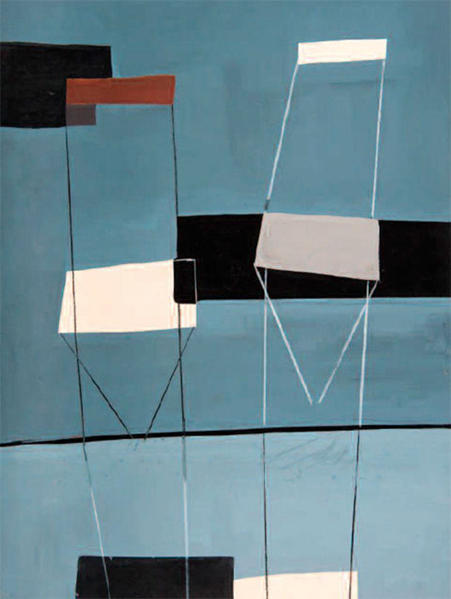 Jesús De La Sota. Silencios y Ritmos: Dibujos y pintura (1955-1961). Exposiciones Museo Gustavo de Maeztu