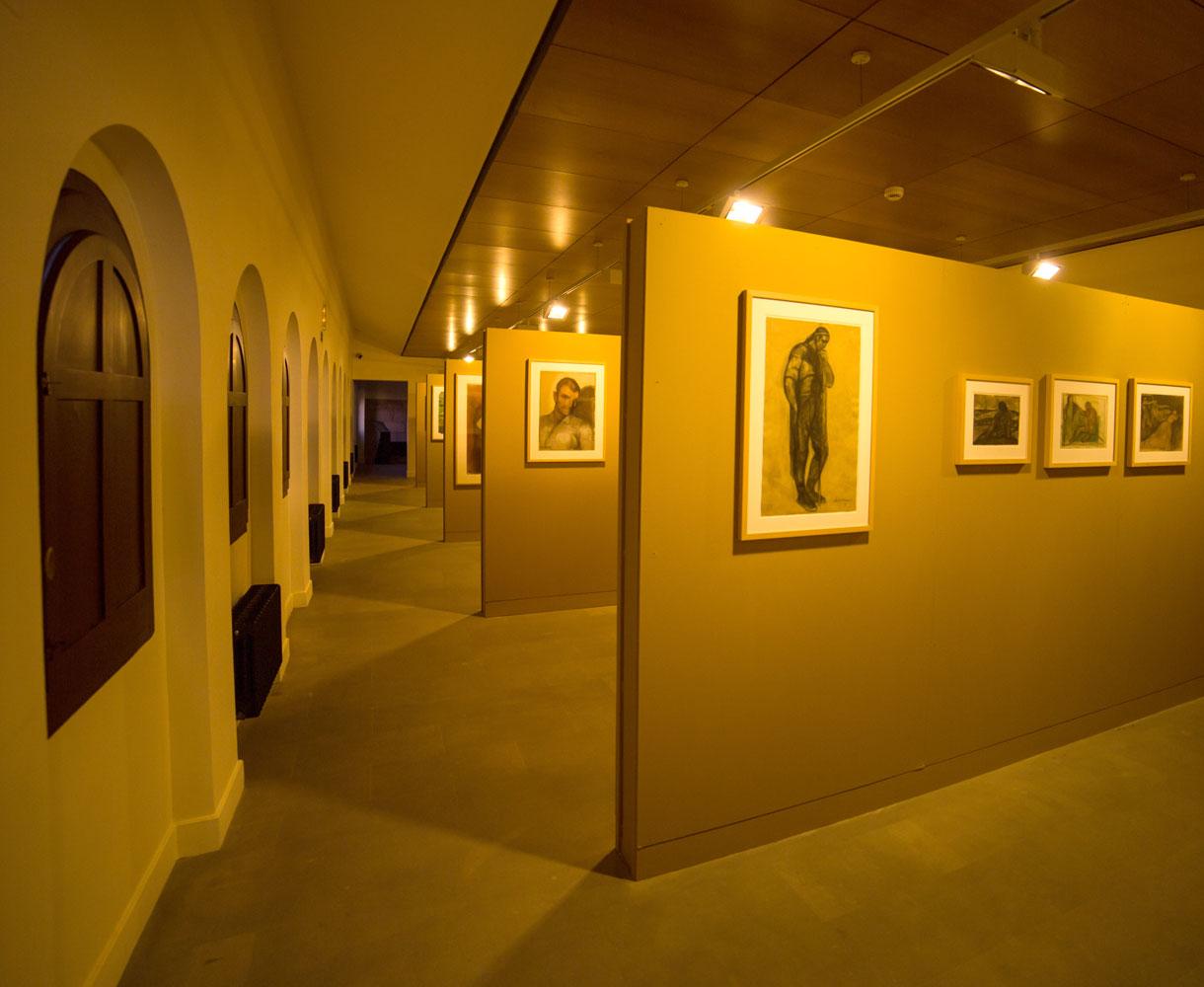 Sala 6 Museo Gustavo de Maeztu. Estella-Lizarra