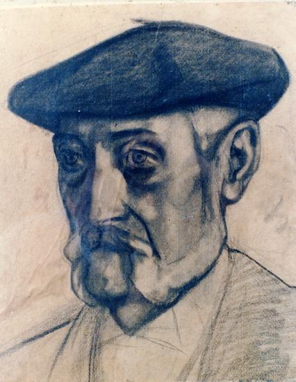 'Retrato de Miguel de Unamuno', por Gustavo de Maeztu.