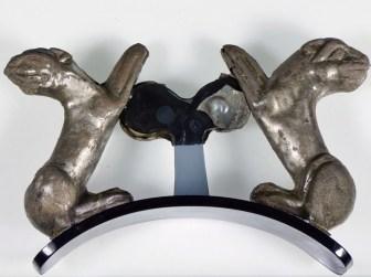 Coppia di Leoncini d'argento, Loc. Cerrecchio, Circolo dei Leoncini d'Argento, 1° deposizione (Fine VII secolo a.C.)