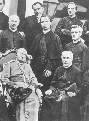 Mons. Giuseppe Sarto padre spirituale del seminario, cancelliere vescovile e canonico a Treviso
