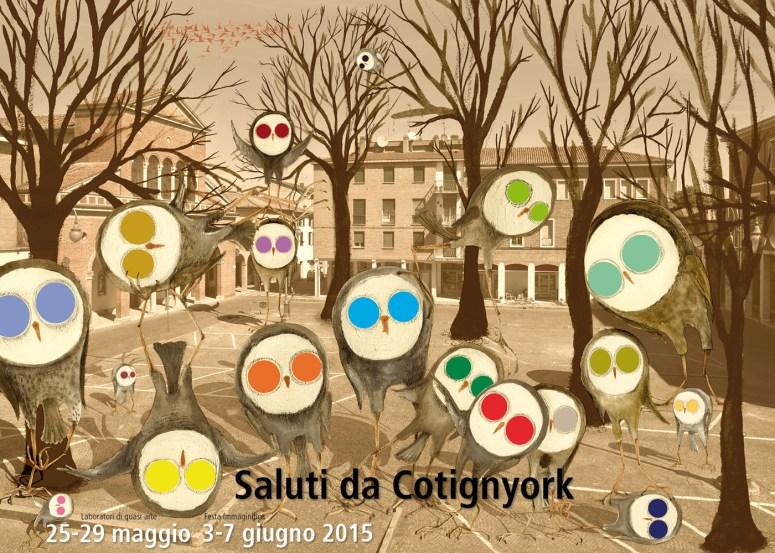 Locandina Cotignyork 2015