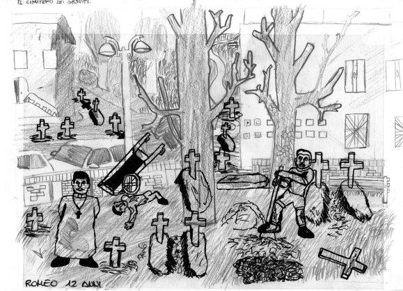 Il cimitero dei gesuiti