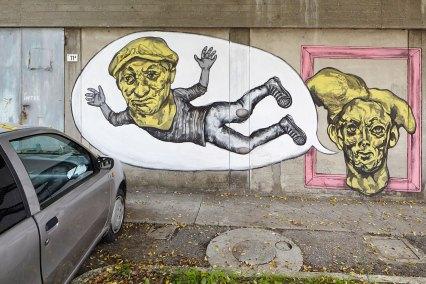 """Collettivo FX """"Dietro ogni matto c'è un villaggio"""", Cotignola, 2015"""