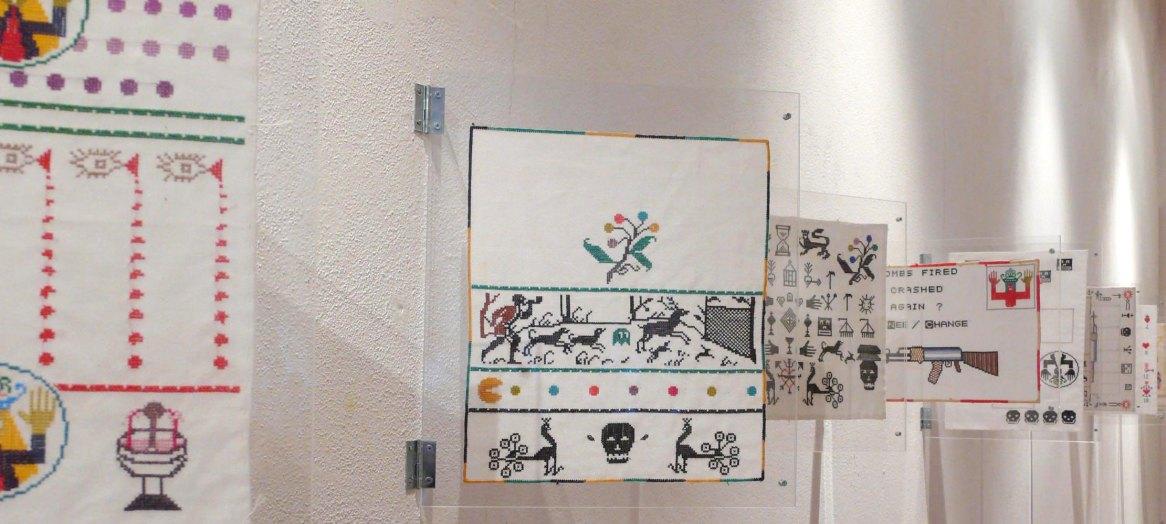 Cinzia Ortali – Selvatico – E Bianca – Una parola diversa per dire latte – Fusignano – Museo Civico San Rocco e Chiesa del Pio Suffragio – Geometrie e altre microscopiche meraviglie della natura e crescita