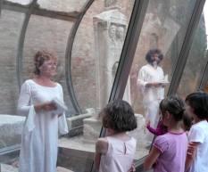 Il museo con le storie dentro / Alessia Canducci / venerdì 9 giugno / stele di Caio Vario - museo civico luigi varoli