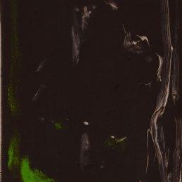 n.77, Jacopo , Casadei, W.B., 2018, olio su tela, 15x10 cm
