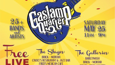 Photo of 2nd Annual Gaslamp Music & Art Festival A Hit