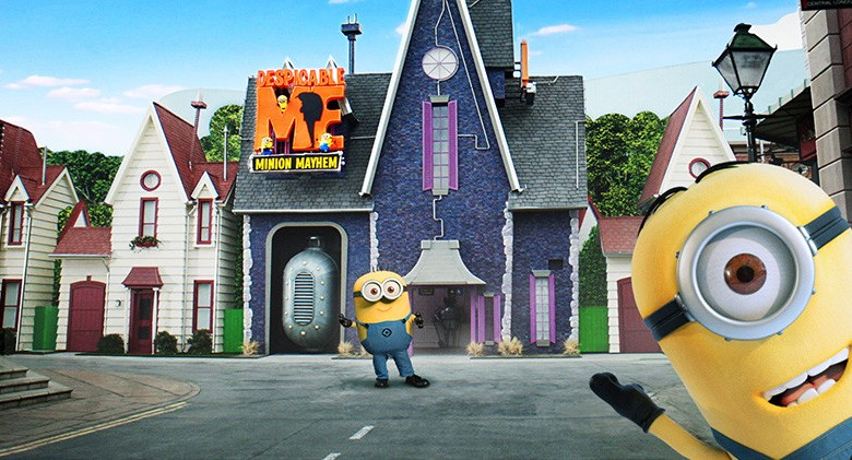 Despicable Me: Minion Mayhem Universal Studios Hollywood