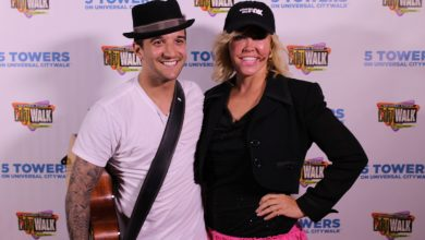 "Photo of National Dance Day At ""5 Towers"" With Mary Murphy and Mark Ballas"