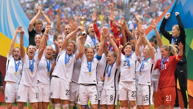 Photo of U.S. Women's Soccer claims the cup, beats Japan 5-2 in final