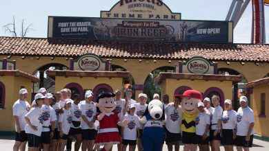 Photo of Special Olympics World Games Torch Run Stops At Knott's Berry Farm