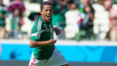 Photo of LA Galaxy sign Mexican star Giovani dos Santos