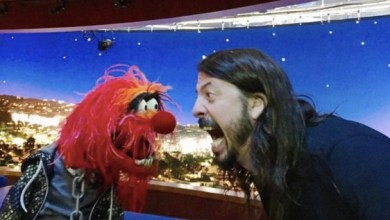 Photo of Dave Grohl Versus Animal The Drum Off Is ON!!