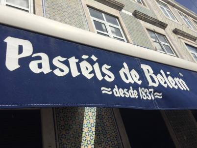 The original pasteis de Belém, since 1837