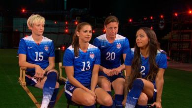 Photo of U.S. Women's Soccer stars file complaint for unequal pay