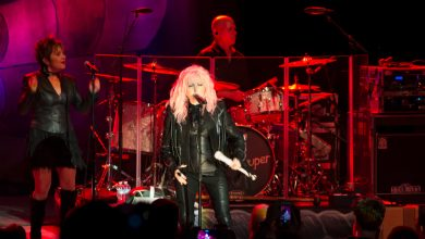 Photo of Cyndi Lauper Rocks out at the Greek!