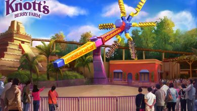 Photo of SOL SPIN BRINGS TOPSY-TURVY THRILLS TO FIESTA VILLAGE STARTING APRIL 21ST AT KNOTT'S BERRY FARM