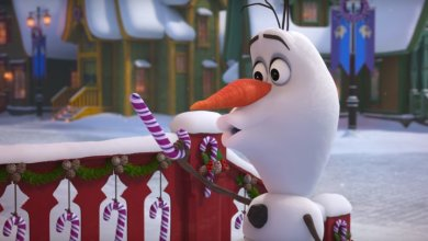 Photo of FOUR ORIGINAL SONGS FEATURED IN ANIMATED FEATURETTE OLAF'S FROZEN ADVENTURE