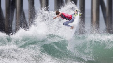 Photo of TOP SEEDS DOMINATE OPENING ROUNDS OF VANS US OPEN OF SURFING MEN'S QS 10,000