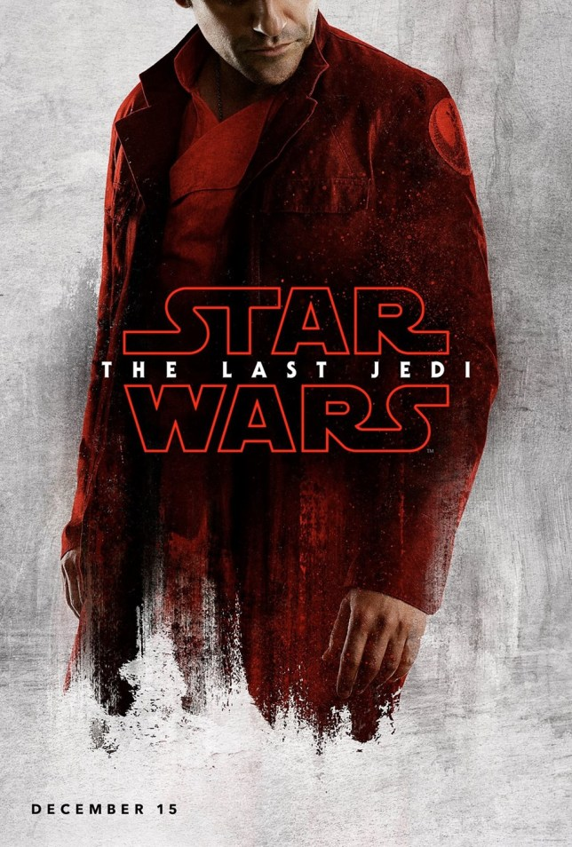 Poe Damaron Star Wars The Last Jedi
