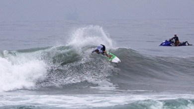 Photo of MAUD LE CAR WINS US OPEN OF SURFING CT WILDCARD MEN'S QS 10,000