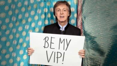Omaze Paul McCartney approved campaign photo