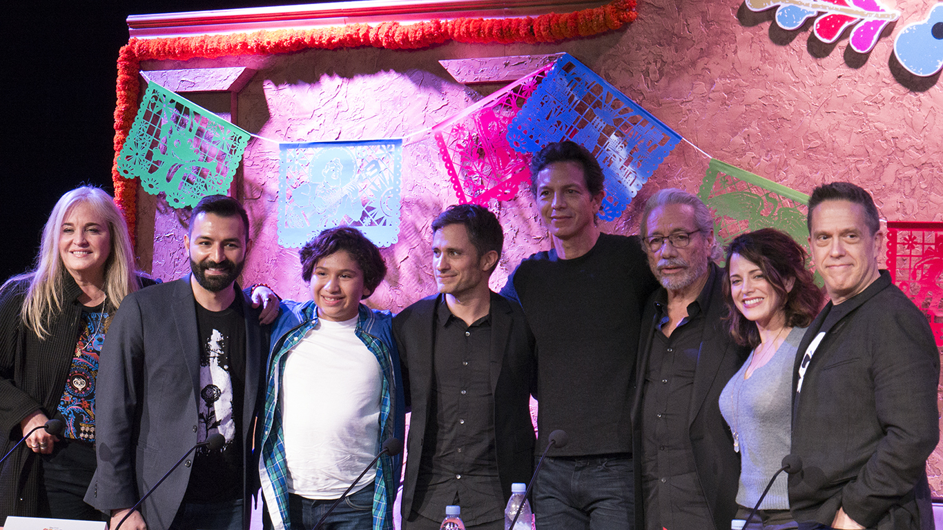 Coco Cast Photo From Press Conference