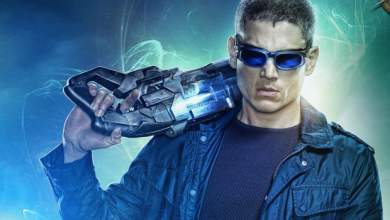 Photo of Wentworth Miller Filming Final Episodes As Captain Cold