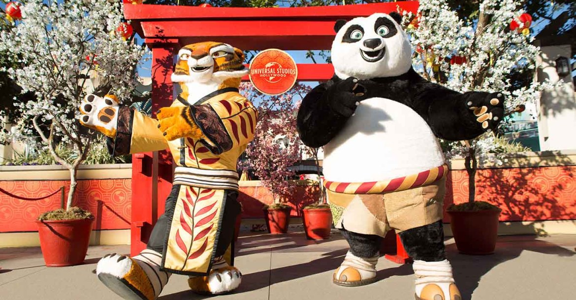 Chinese New Years at Universal Studios Hollywood
