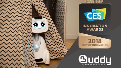 Photo of BUDDY A Big Hit at CES Unveiled 2018