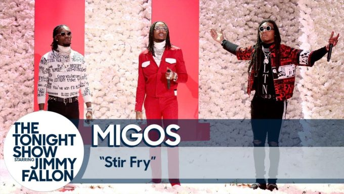 migos on the tonight show