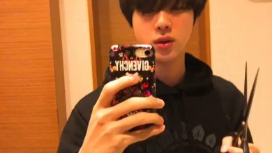 Photo of BTS's Jin Cut His Own Bangs And Twitter Freaks Out