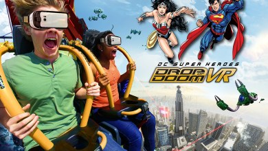 Photo of West Coast's Tallest Drop Tower Ride to Debut DC SuperHero VR Experience