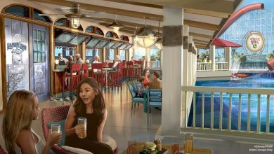 Photo of A look into California Adventures 'Lamplight Lounge'