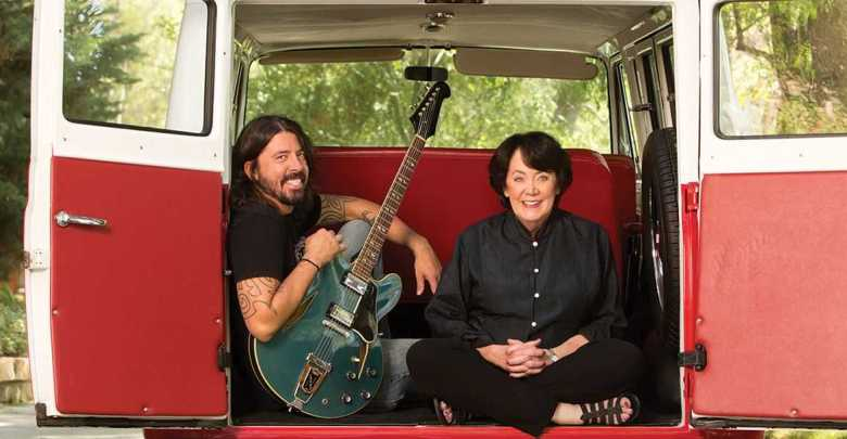dave grohl mom book raising rock stars Grohls