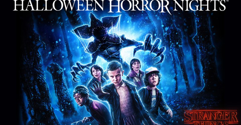 Stranger Things key art - Halloween Horror Nights