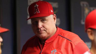 MLB: Los Angeles Angels at Tampa Bay Rays Mike Scioscia